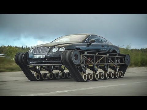 The FASTEST all-terrain tracked vehicle in the WORLD. Bentley Ultratank.