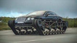 Download Самый быстрый гусеничный вездеход в мире. Bentley Ultratank. Mp3 and Videos