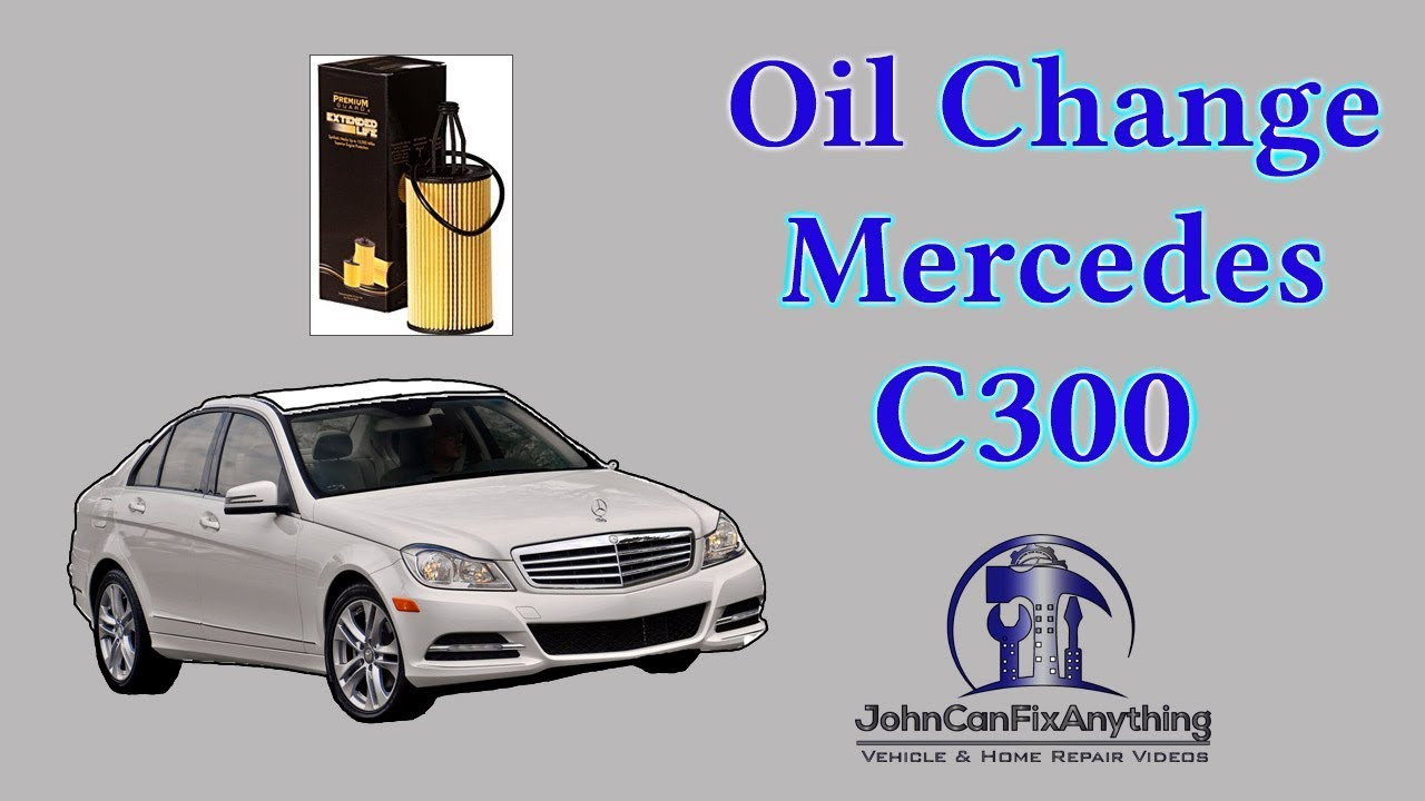 Diy Oil Change 2013 Mercedes Benz C300