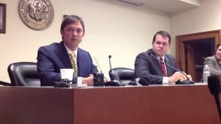 Arkansas Republican Legislative Leaders On Gov. Mike Beebe