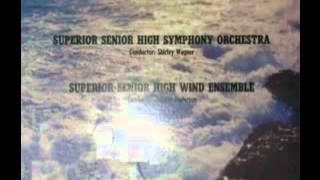 1972 Superior Senior High School - Orpheus Overture