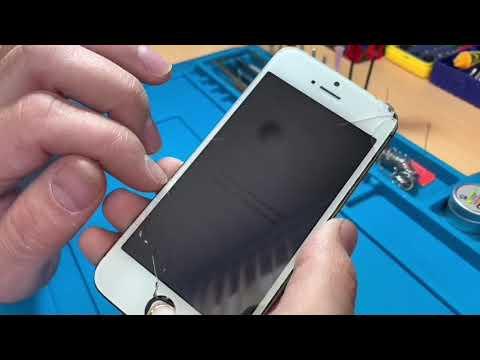 Замена стекла на дисплейном модуле iPhone 5s
