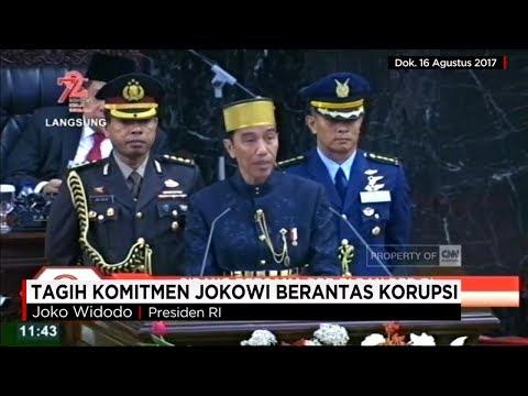 Tagih Komitmen Presiden Joko Widodo Berantas Korupsi