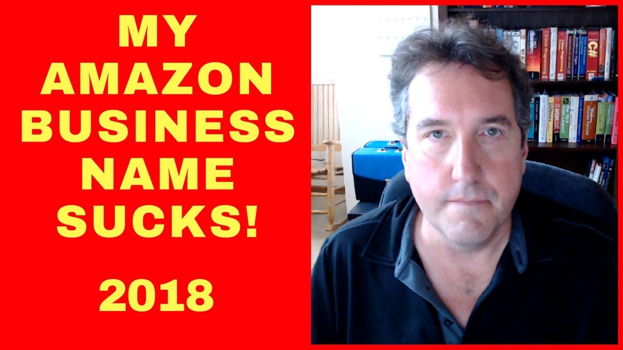 how to choose a business name for amazon