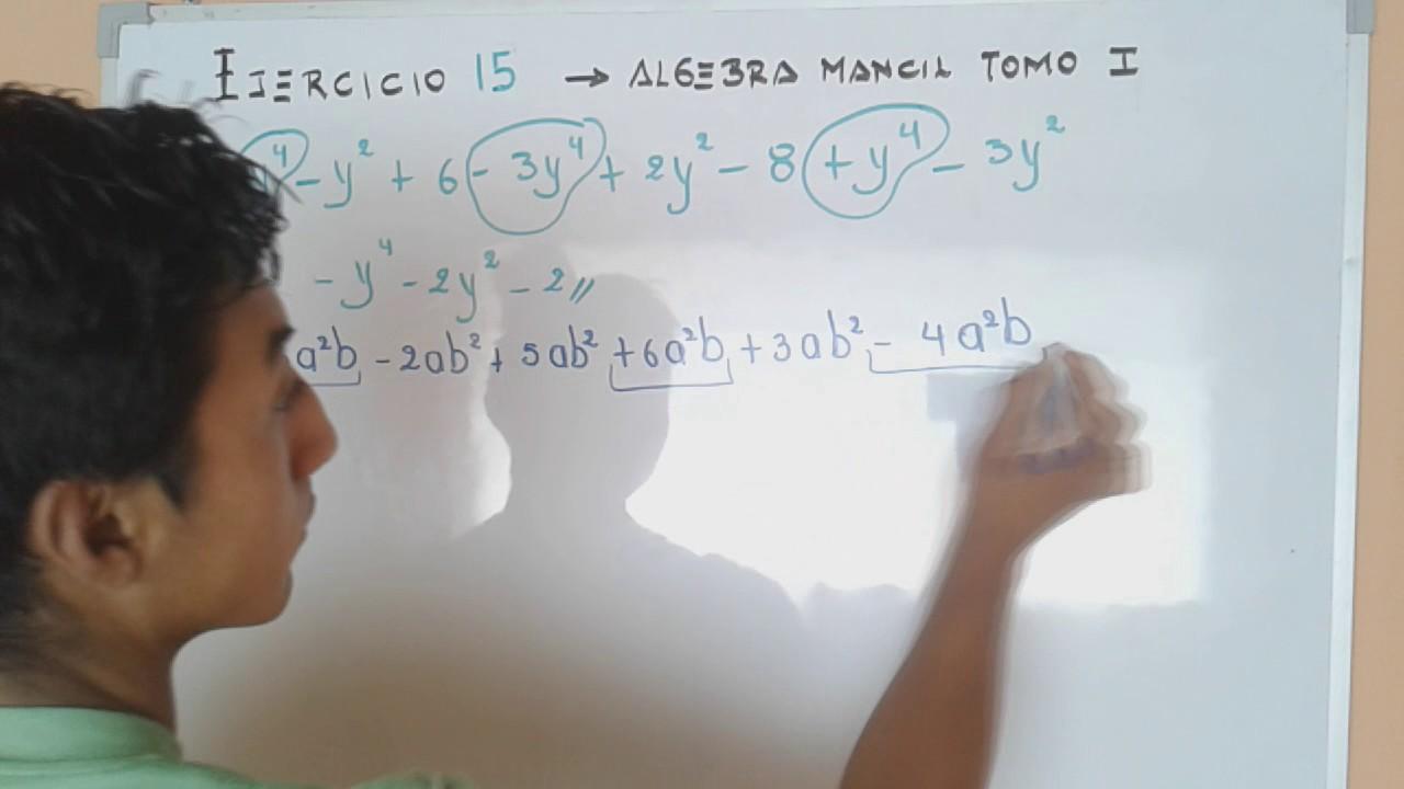 algebra de mancil 2