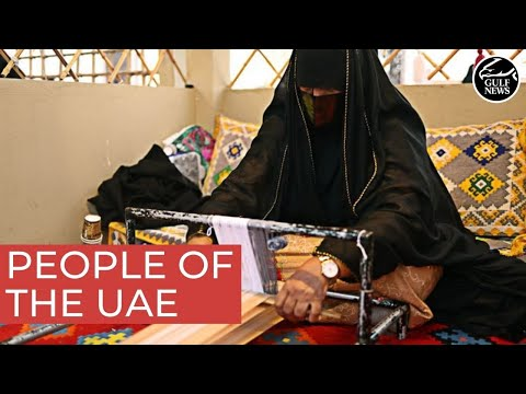 People of the UAE: A pearl diver, weaver, perfumer, boat-mak
