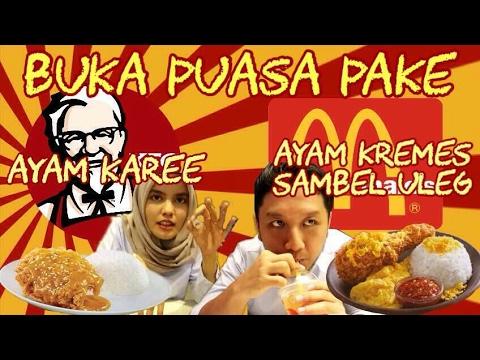 KALAP! Buka Puasa Pake KFC KAREE & MCD KREMES SAMBEL ULEG!