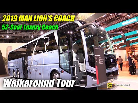 2019 MAN Lion's Coach 52 Seat Bus - Exterior and Interior Walkaround - 2019 IAA Hannover