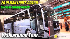 2019 MAN Lion's Coach 52 Seat Bus - Exterior and Interior Walkaround - 2019 IAA Hannover