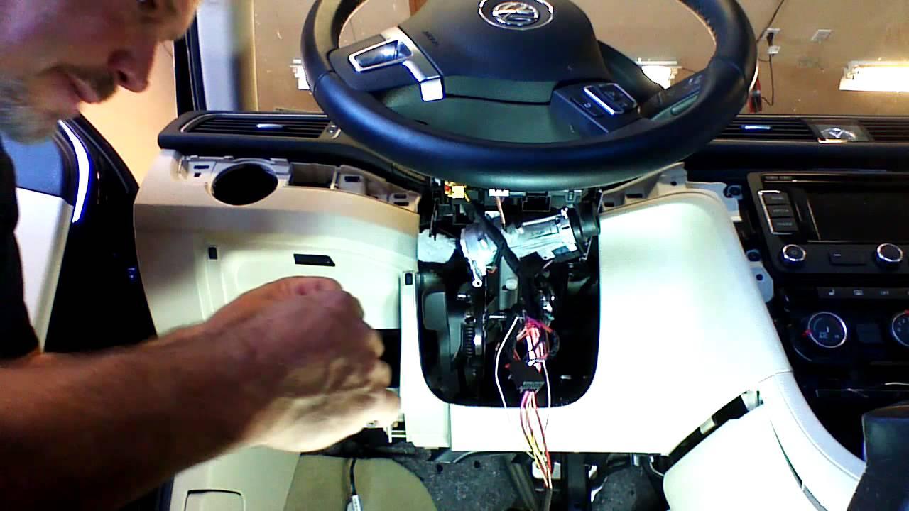 2013  2014 Volkswagen Passat Remote Start Installation