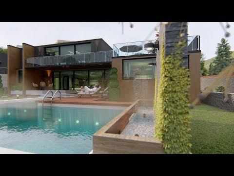 Lumion 8 (Pool, Fountain) Test