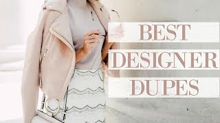 DESIGNER DUPES SUMMER 2017!   |   Gucci, Chloe, Self Portrait & More!   |    Fashion Mumblr