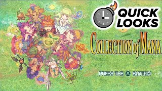 Collection of Mana: Quick Look (Video Game Video Review)