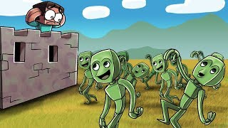 DAME TU COSITA TAKES OVER MINECRAFT! (Minecraft Dancing Alien)
