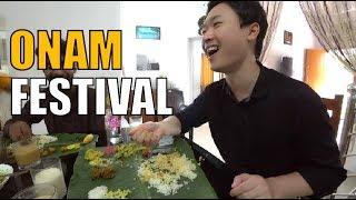 How foreigner enjoy Kerala Onam Festival │India Trip Video│David Shin