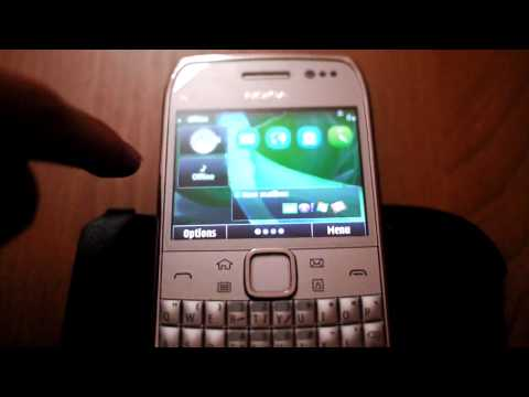 Nokia E6 Raw Unboxing Preview