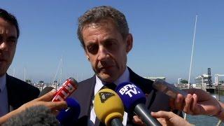 """Nicolas Sarkozy: """"La France aujourd'hui est dans une situation que plus personne ne ..."""
