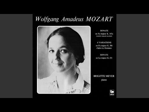 Piano Sonata No. 11 In A Major, K. 331: I. Variation II