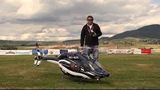Schmerlat Airport R/C Turbine Model Helicopter By Anton.L Gigantic Bell 429 Global Ranger Msn 57012