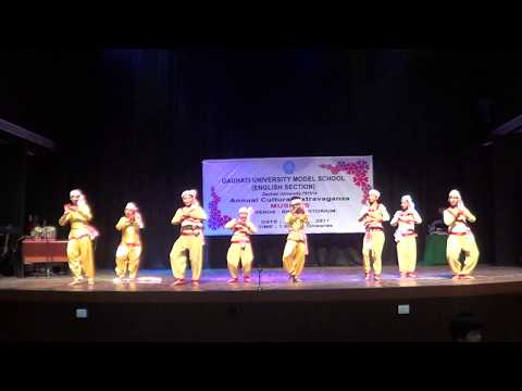 Sankare Sise Namor Kothiya Dr. Bhupen Hazarika Song/dance Perfomance/Choreographed By Maram-Maina.