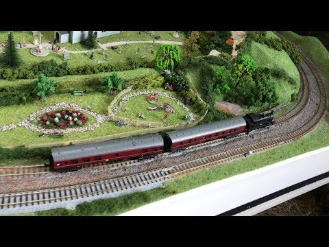 Astolat Model Railway Circle Open Day Train Show - Dapdune Wharf Guildford 19/8/17