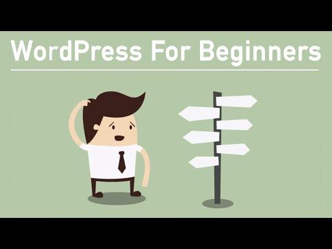 WordPress Tutorial For Beginners 2015