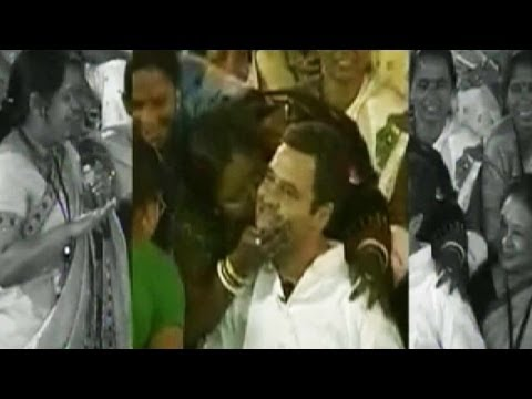 Assam woman burnt to death for kissing Rahul Gandhi