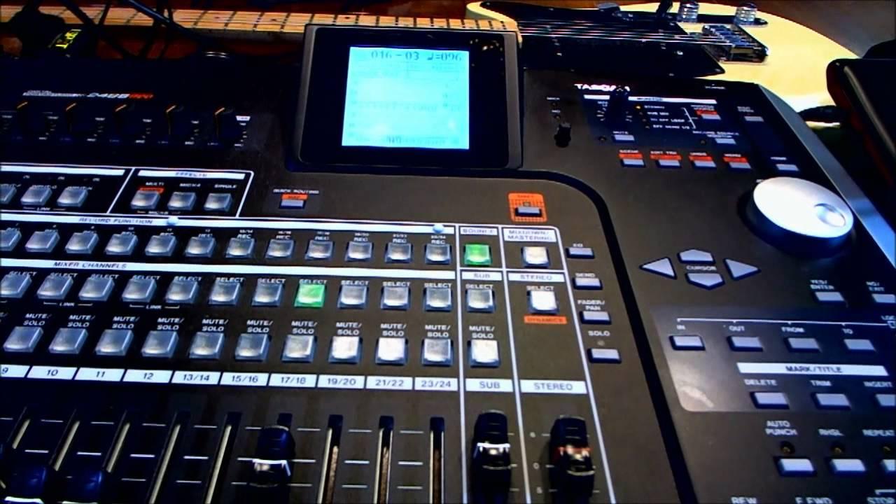 Tascam 2488 Neo : tascam 2488 neo bouncing tracks youtube ~ Hamham.info Haus und Dekorationen