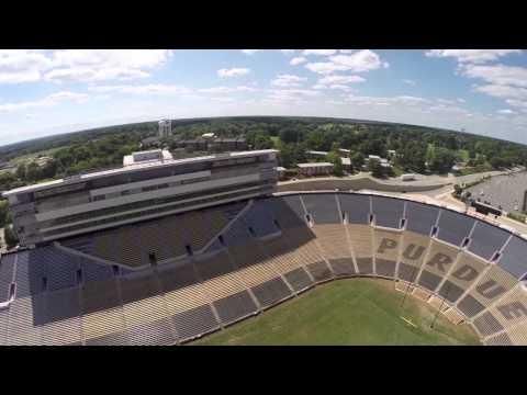 Ross-Ade Stadium Aerial Tour