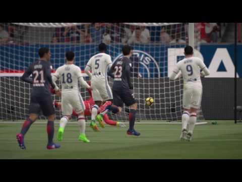 FIFA 17 | Paris Saint Germain - Olympique Lyon (prof, online selecties) (2-4) (NL comm.)