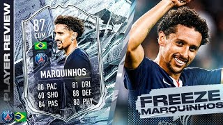 SHOULD YOU DO THE SBC?! 87 FREEZE MARQUINHOS REVIEW!! FIFA 21 Ultimate Team
