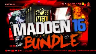 ultimate bundle pack opening new chris harris   madden 16 ultimate team