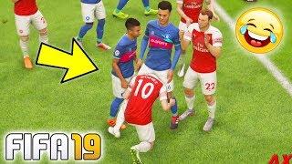 FIFA 19 FAILS - Funny Moments #5 (Random Glitches, Bugs Wtf & Epic Goals Compilation)