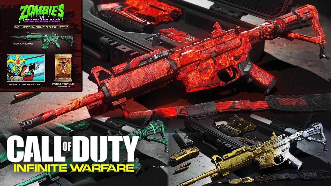 special sales release date new products Call of Duty: Infinite Warfare - All Pre Order Bonuses (Free  Map/Weapons/Camos DLCs)