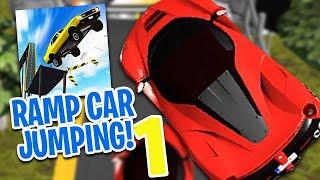 Wyskoczyłem samochodem i stało się - Ramp Car Jumping - Gameplay Part 1 Gry Samochodowe (Brot 2020)