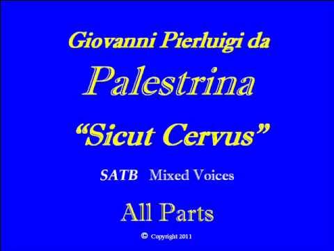 Sicut Cervus-Palestrina