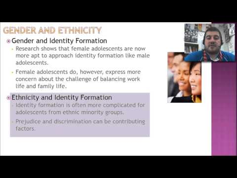 11-3 and 4: Identity Formation and Problems