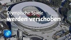 Verzögerung um etwa ein Jahr: Olympische Spiele in Tokio