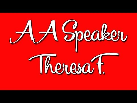 AA Speaker Theresa F. from Van Nuys, CA at the Fort Dodge Winter Rally in Fort Dodge, IA 2015
