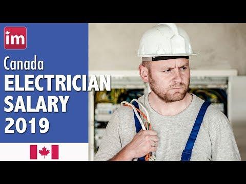 Electrician Salary In Canada (2019) - Jobs In Canada