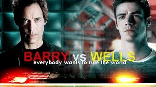 barry vs wells :: everybody wants to rule the world