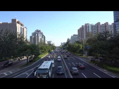[4K] Beijing Chaoyangmen North Street Time Lapse