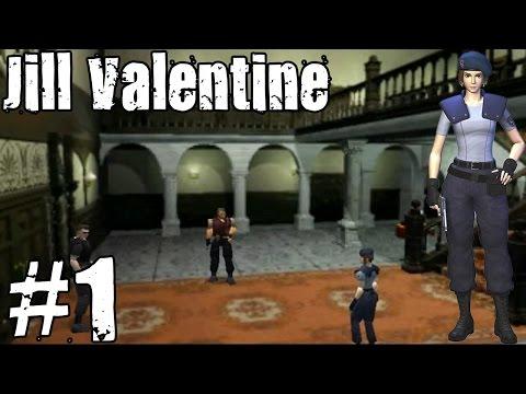 Resident Evil 1 Jill Part 1 - Walkthrough