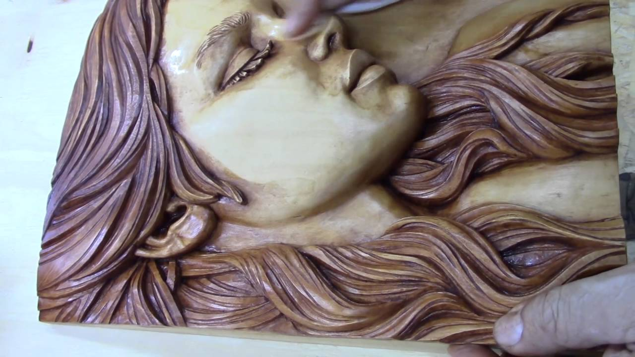 How to stain and finish basswood wood carving fred zavadil youtube