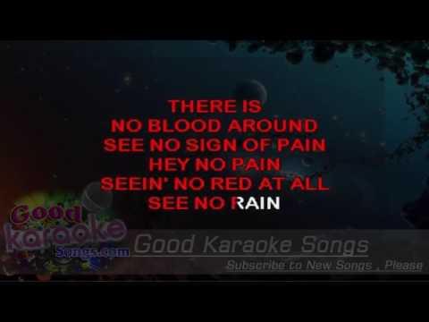 Red Rain -  Peter Gabriel (Lyrics Karaoke) [ goodkaraokesongs.com ]