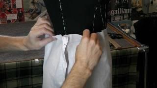 ✂️👗👖👍Как раскроить юбку методом наколки.