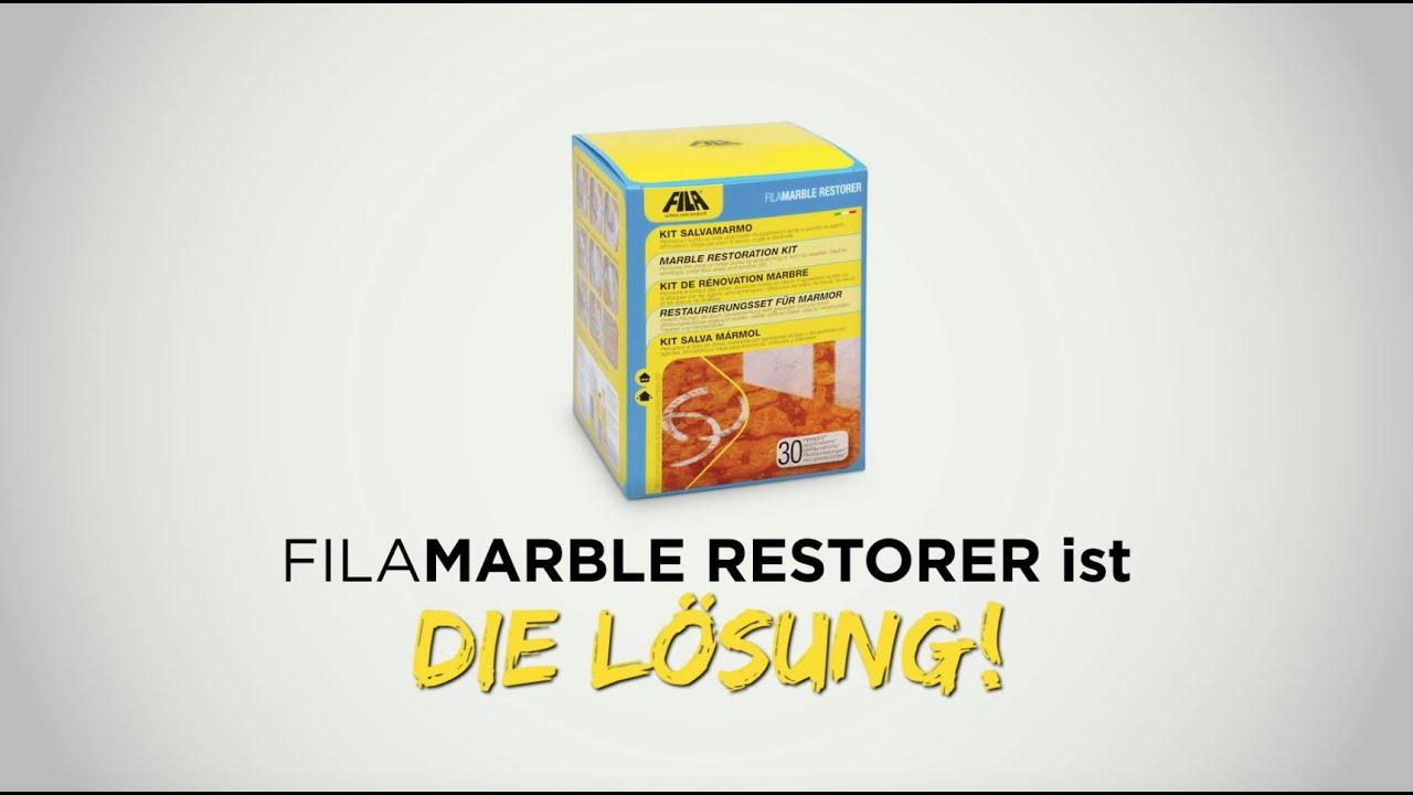 FILA MARBLE RESTORER - RESTAURIERUNGSSET FÜR MARMOR