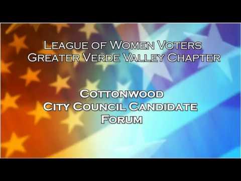 2018 Cottonwood City Council Candidate Forum