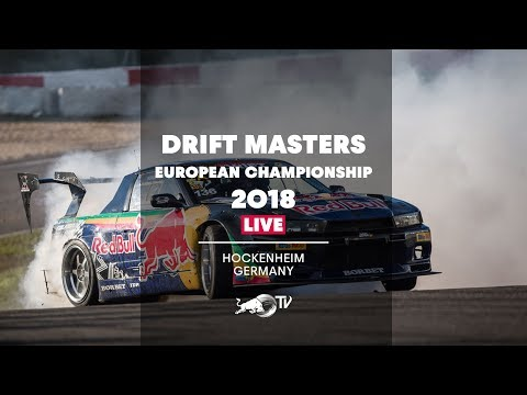 Drift Masters European Championship 2018 - LIVE Finals in Hockenheim, Germany