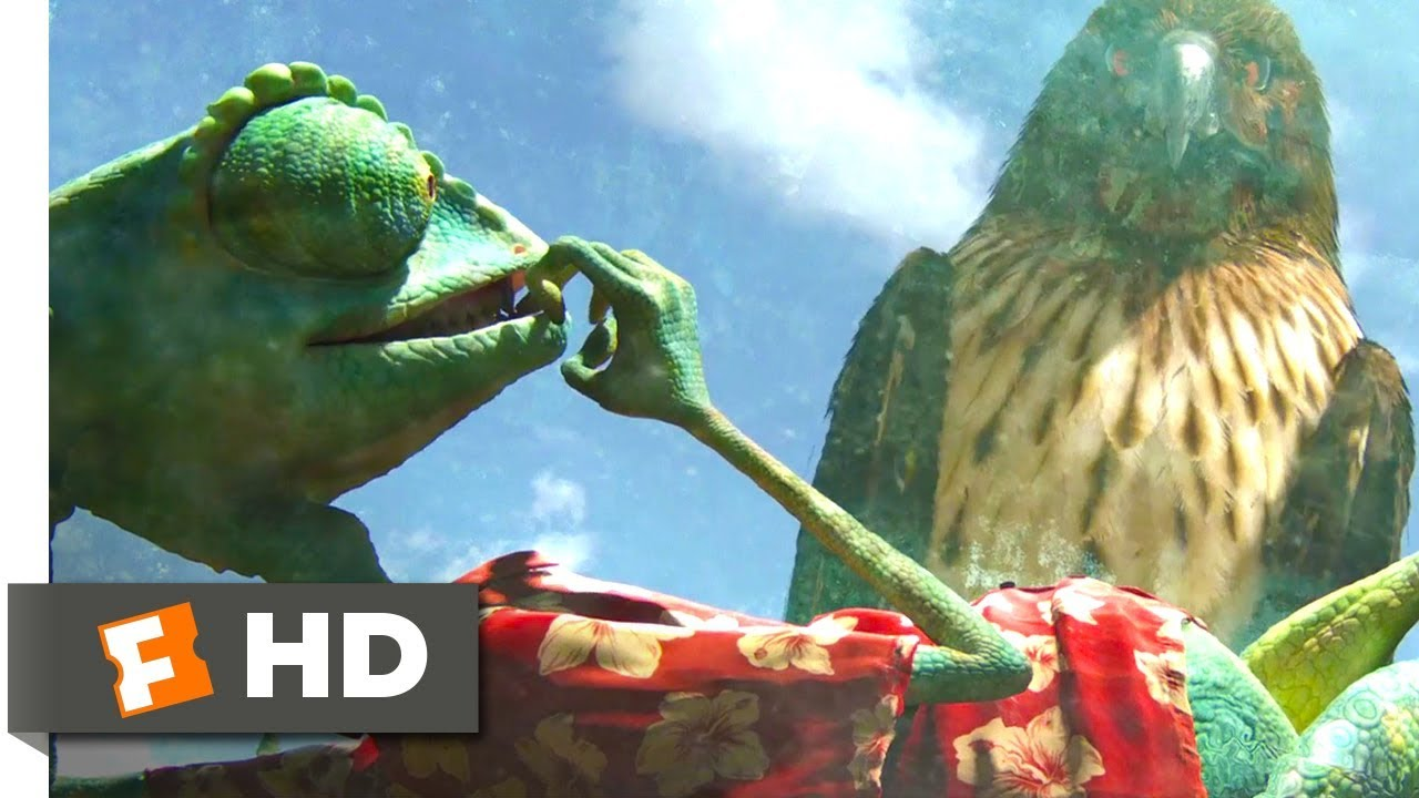 Download Rango (2011) - Between a Hawk and a Glass Place Scene (2/10) | Movieclips